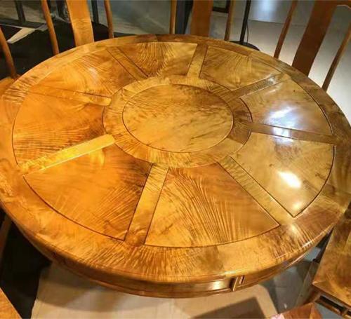 金丝楠木圆桌