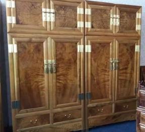 金丝楠木衣柜
