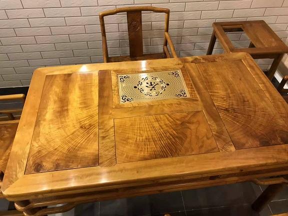 金丝楠木泡茶桌